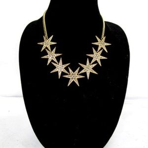 J.Crew Crystal Star Necklace